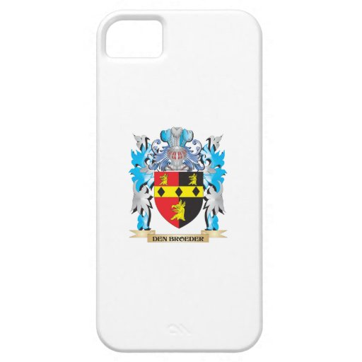 Den-Broeder Coat of Arms - Family Crest iPhone 5/5S Case