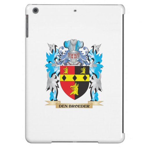 Den-Broeder Coat of Arms - Family Crest iPad Air Cases