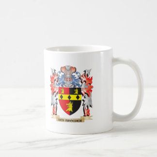 Den-Broeder Coat of Arms - Family Crest Coffee Mug