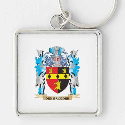 Den-Broeder Coat of Arms - Family Crest Key Chain