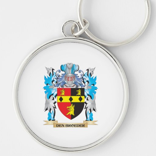 Den-Broeder Coat of Arms - Family Crest Keychains