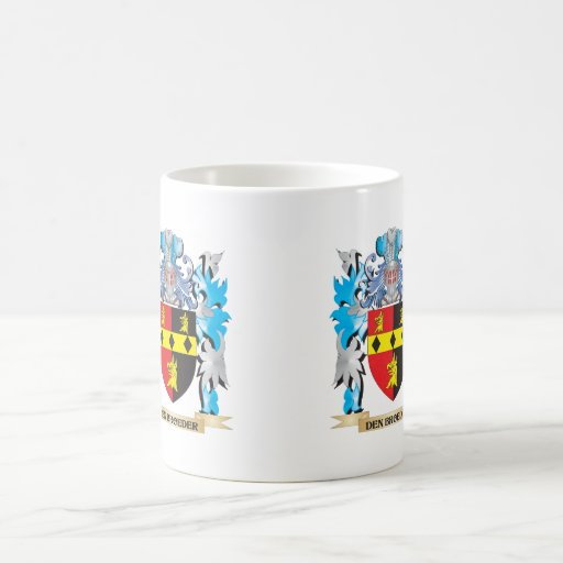 Den-Broeder Coat of Arms - Family Crest Coffee Mugs