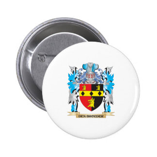 Den-Broeder Coat of Arms - Family Crest Pin