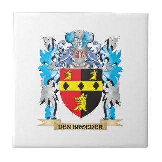 Den-Broeder Coat of Arms - Family Crest Ceramic Tile