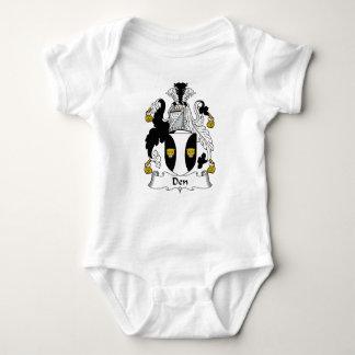 Den Family Crest Baby Bodysuit