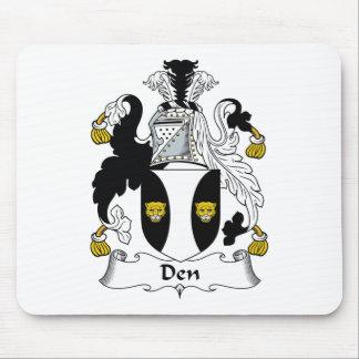 Den Family Crest Mouse Pad