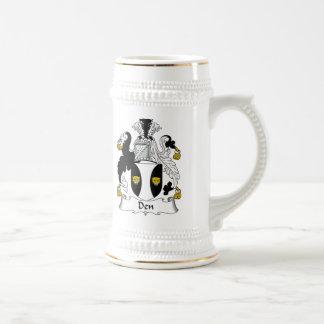 Den Family Crest Mugs