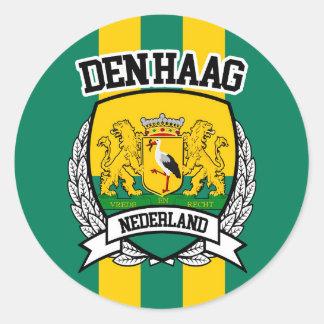 Den Haag Classic Round Sticker
