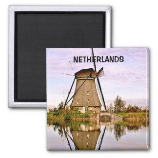 DEN HAAG THE  NETHERLANDS SQUARE MAGNET