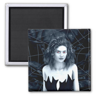 Den Mother Gothic Art Square Magnet