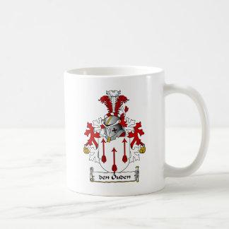 den Ouden Family Crest Mug
