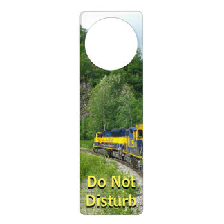 Denali Express Alaska Train Vacation Photography Door Hanger