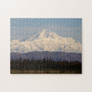 Denali in the Morning Jigsaw Puzzle