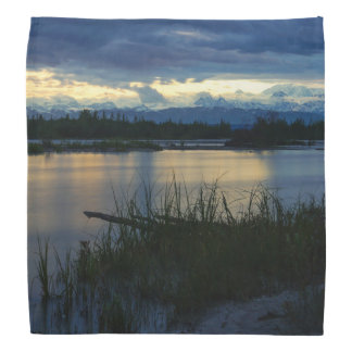 Denali Midnight Sunset Bandana