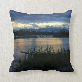 Denali Midnight Sunset Cushion