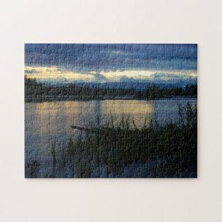 Denali Midnight Sunset Jigsaw Puzzle