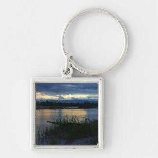 Denali Midnight Sunset Key Ring