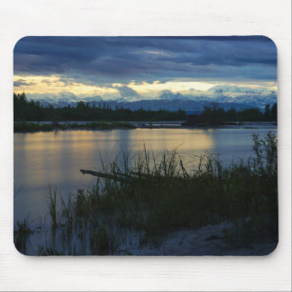 Denali Midnight Sunset Mouse Pad
