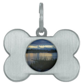 Denali Midnight Sunset Pet Name Tag