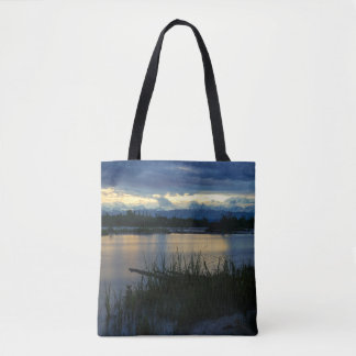 Denali Midnight Sunset Tote Bag