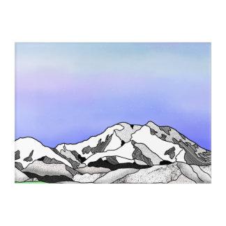 Denali Mountain Landscape Acrylic Wall Art