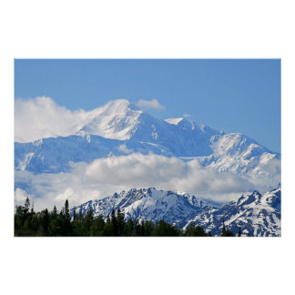 Denali / Mt McKinley Alaska Poster