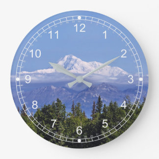 Denali (Mt. McKinley) Large Clock