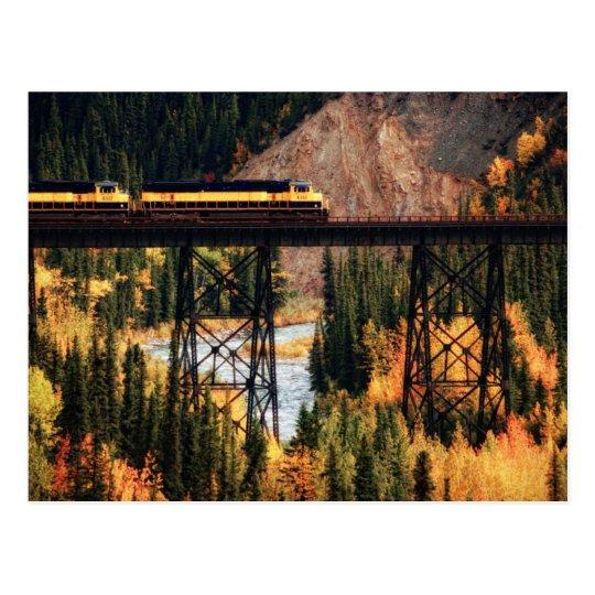 Denali National Park and Preserve USA Alaska Postcard