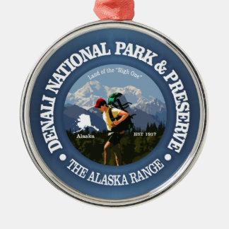 Denali National Park(Hiker C) Metal Ornament