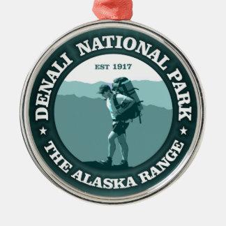 Denali National Park Metal Ornament