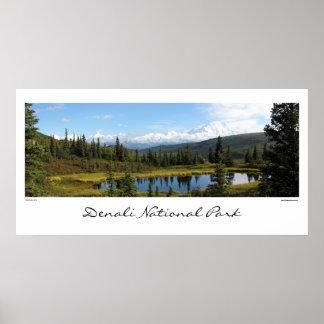 Denali National Park Poster
