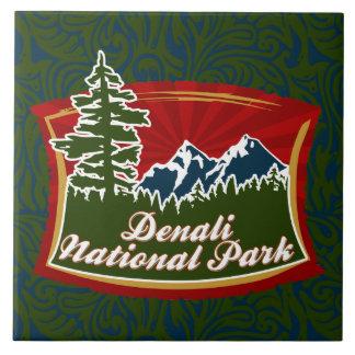 Denali National Park Tile