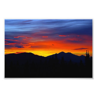 Denali Sunrise Photo Print