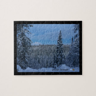 Denali Winter Wonderland Puzzle