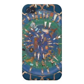 Dendera Zodiac Temple of Hathor iPhone 4/4S Cover