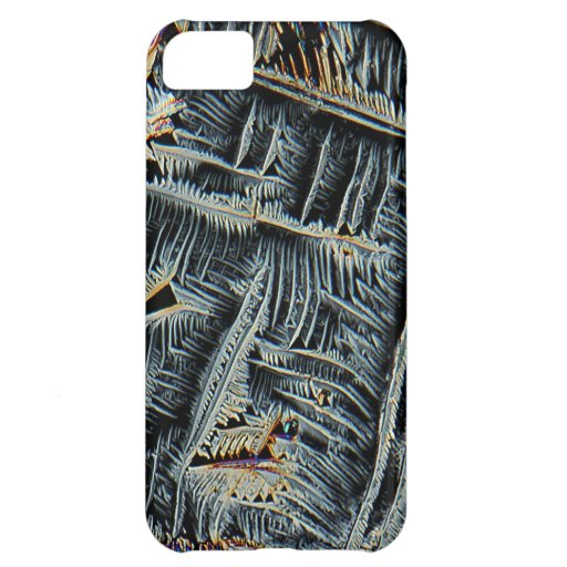 Dendritic crystals under the microscope cover for iPhone 5C