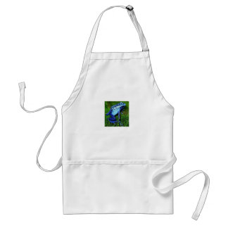 Dendrobates azureus - blue poison frog standard apron