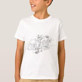 denhac exploded logo T-Shirt