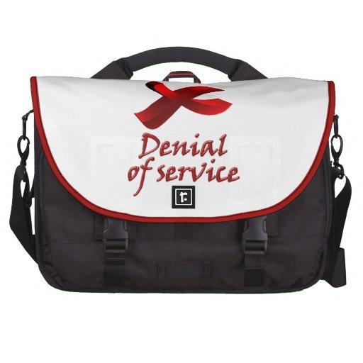 Denial OF service Laptop Commuter Bag