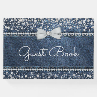 Denim and Diamond Guest Book