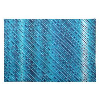Denim Blue Background Placemat