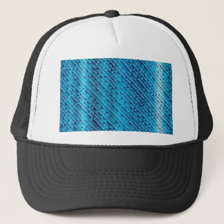 Denim Blue Background Trucker Hat
