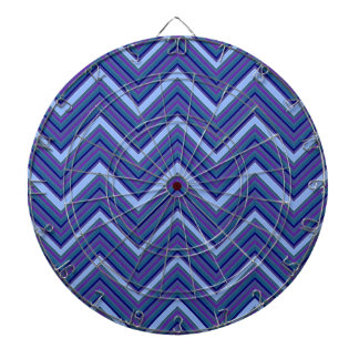 Denim Blue Chevrons Dart Boards