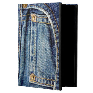 Denim blue jeans tatty old pocket ipad air cover