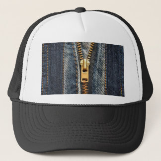 Denim Blue Jeans Trucker Hat