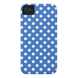 Denim Blue Polka Dot Iphone 4/4S Case