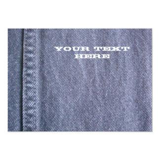 Denim Card