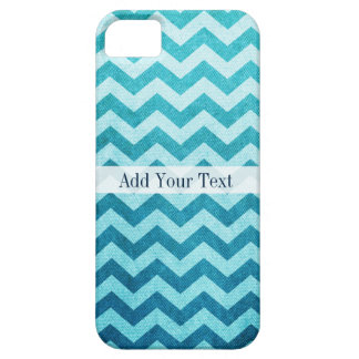 Denim Chevron by Shirley Taylor Case For The iPhone 5