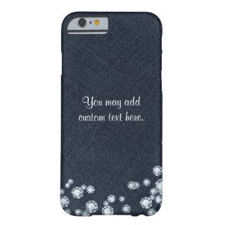 Denim & Diamonds iphone Custom Phone Case Cover
