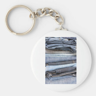 denim jeans key ring